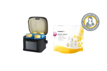Medela breast milk management products for professionals