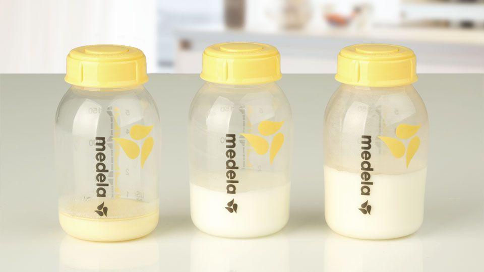 Zusammensetzung von Kolostrum gegen reife Milch